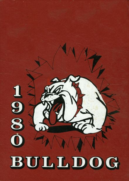 1980 Brandon High School Yearbook Cover