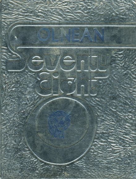 1978 East Richland High School Yearbook Cover