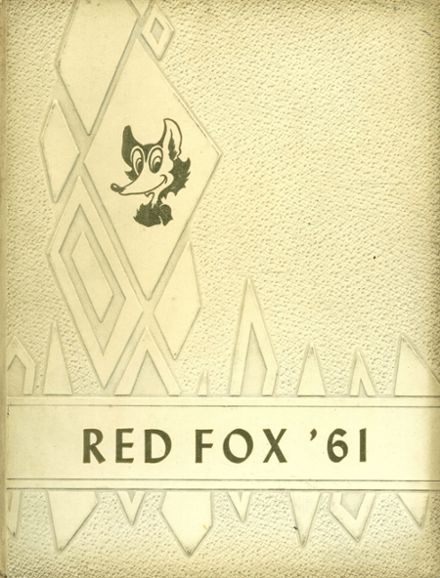 1961 Foxboro High School Yearbook Cover