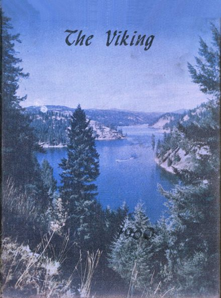 1960 Coeur d' Alene High School Yearbook Cover