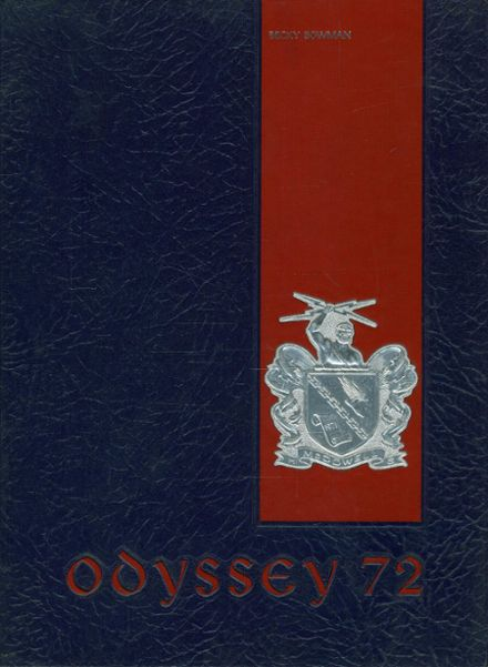 1972 McDowell High School Yearbook Cover