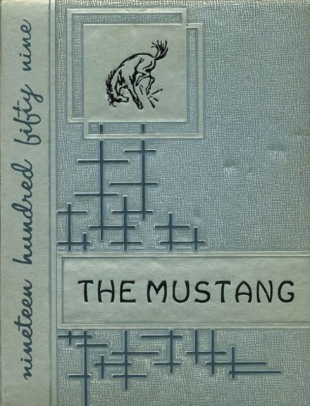 1959 Clio High School Yearbook Cover