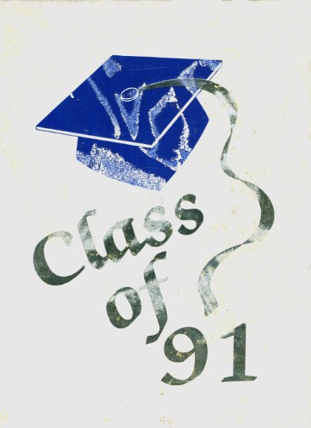 1991 North Babylon High School Yearbook Cover