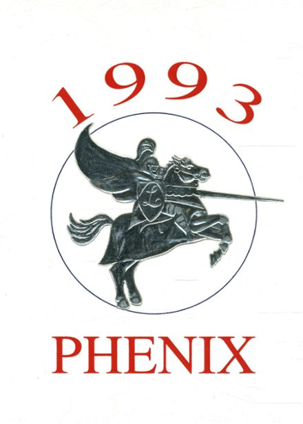 1993 East Union High School Yearbook Cover