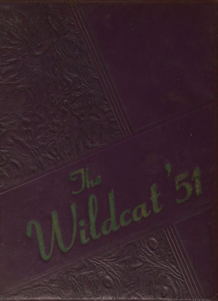 1951 Byars-Hall High School Yearbook Cover