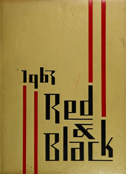 1963 Dusable High School Yearbook Cover