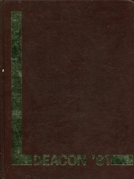 1981 St. Stephen's Episcopal High School Yearbook Cover