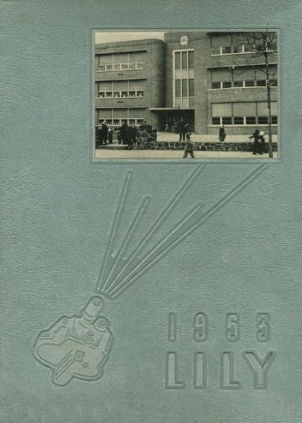 1953 St. Joseph's High School Yearbook Cover