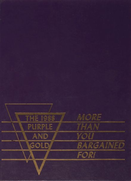 1988 Grand Island High School Yearbook Cover
