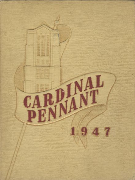 1947 Wauwatosa High School Yearbook Cover