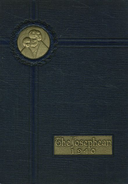 1940 St. Joseph's High School Yearbook Cover