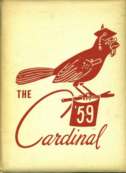 1959 Upsala High School Yearbook Cover