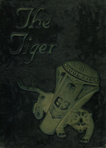 1963 Fern Creek Traditional High School Yearbook Cover