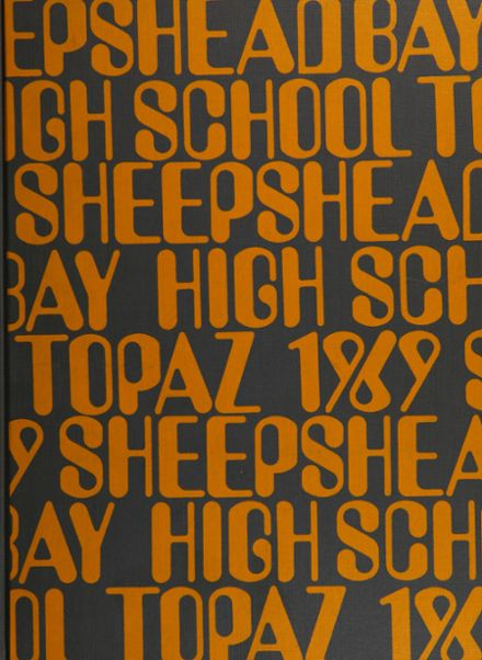 1969 Sheepshead Bay High School Yearbook Cover
