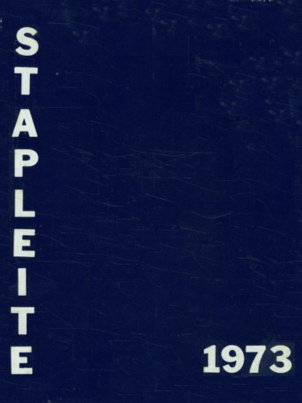 1973 Staples High School Yearbook Cover