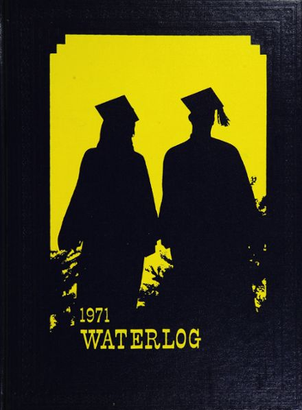 1971 Waterford Township High School Yearbook Cover
