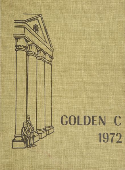 1972 Cranford High School Yearbook Cover