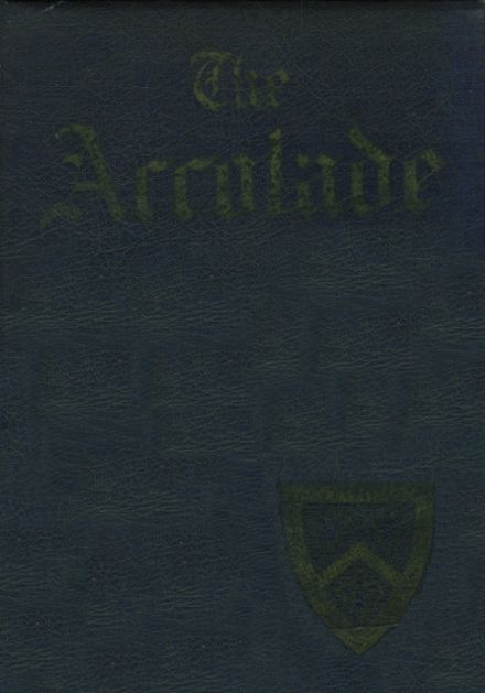 1943 St. Mary's High School Yearbook Cover