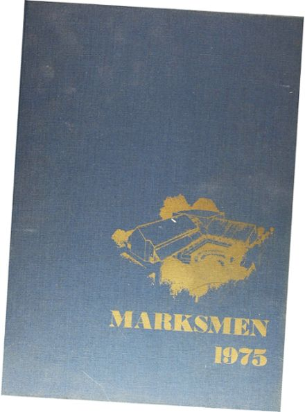 1975 St. Mark's School of Texas Yearbook Cover