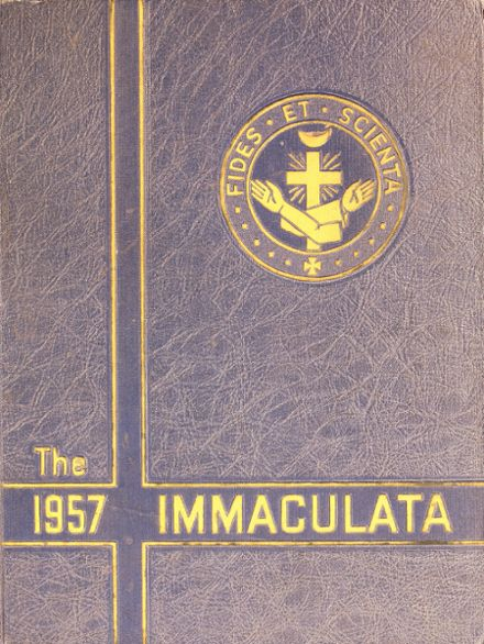 1957 Trenton Catholic High School Yearbook Cover