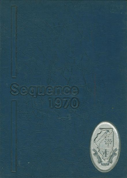 1970 Illinois Valley Central High School Yearbook Cover