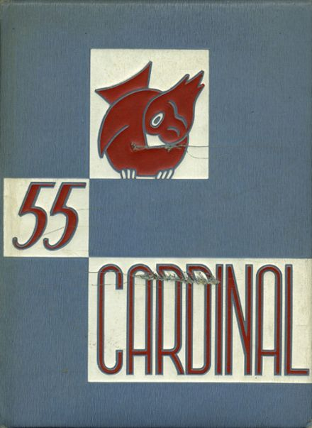 1955 Santa Cruz High School Yearbook Cover