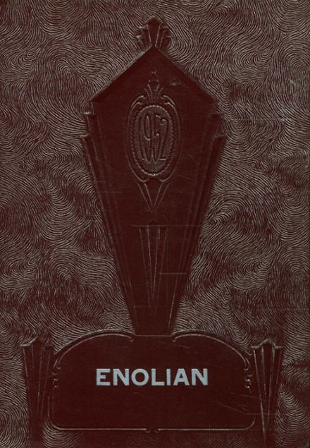 1952 East Pennsboro Area High School Yearbook Cover