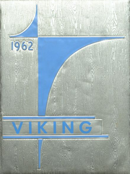 1962 Coeur d' Alene High School Yearbook Cover