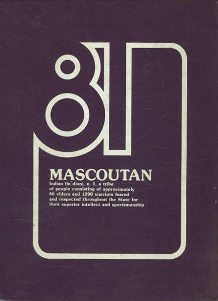 1981 Mascoutah High School Yearbook Cover