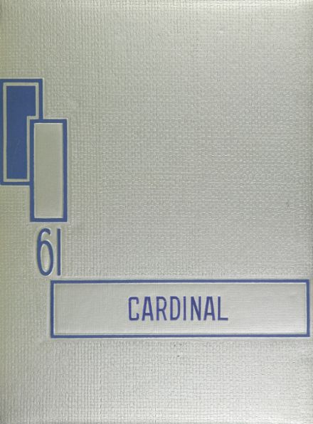 1961 Corning Union High School Yearbook Cover