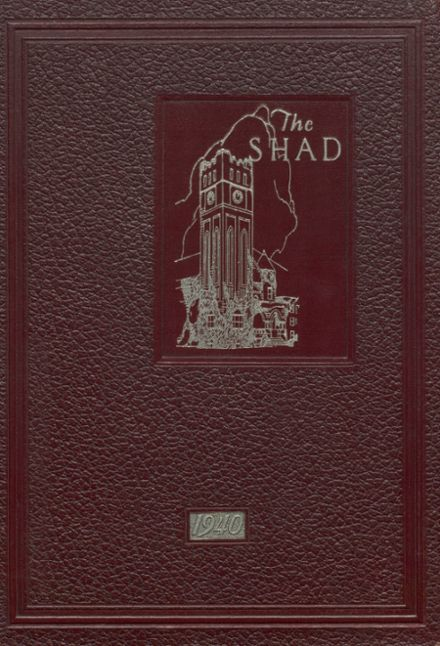 1940 Shattuck - St. Mary's School Yearbook Cover