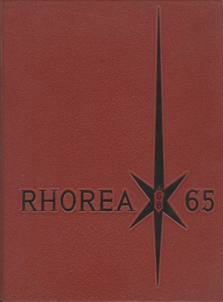 1965 Great Bend High School Yearbook Cover