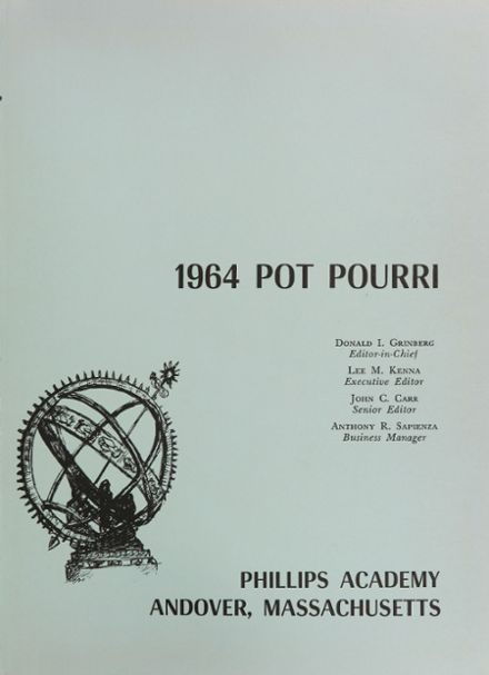 1964 Phillips Academy Yearbook Page 5