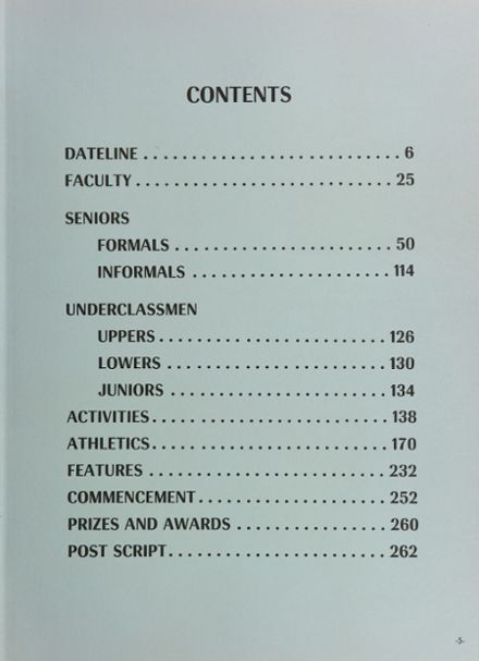 1964 Phillips Academy Yearbook Page 9