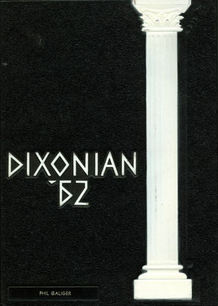 1962 Dixon High School Yearbook Cover