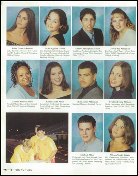explore 2000 penn high school yearbook penn pa