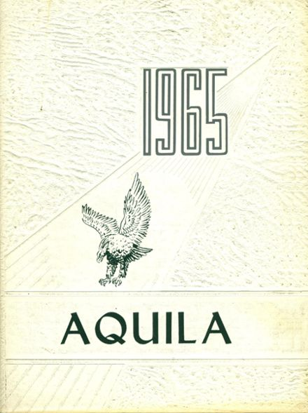 1965 St. John's Academy Yearbook Cover