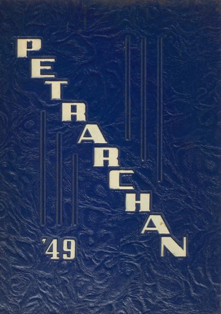 1949 St. Peter's High School Yearbook Cover