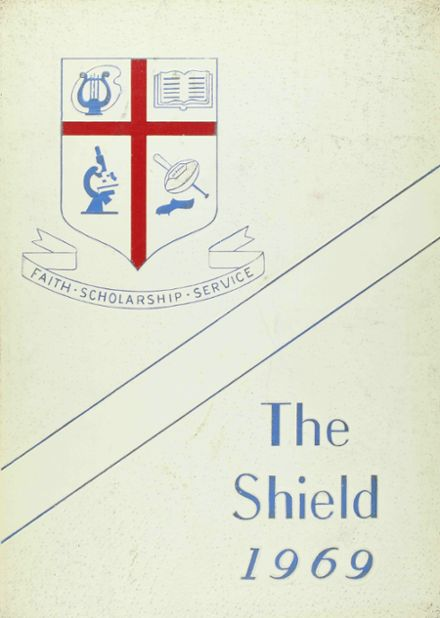 1969 St. Martin's Episcopal School Yearbook Cover