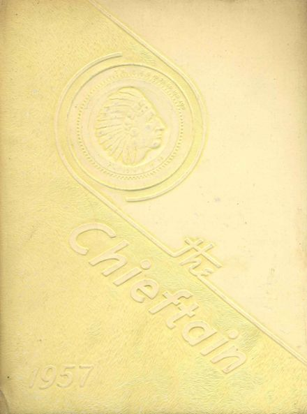 1957 Central High School Yearbook Cover