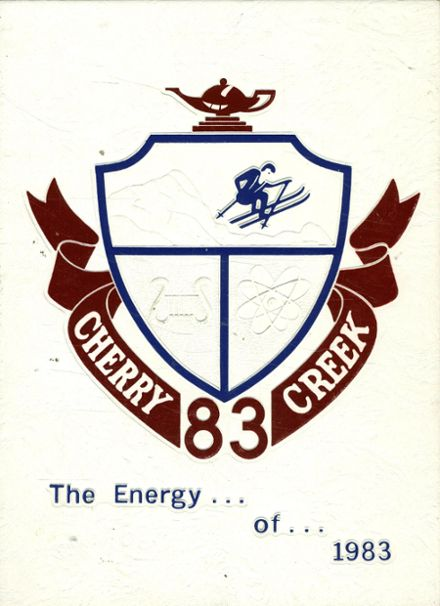 1983 Cherry Creek High School Yearbook Cover