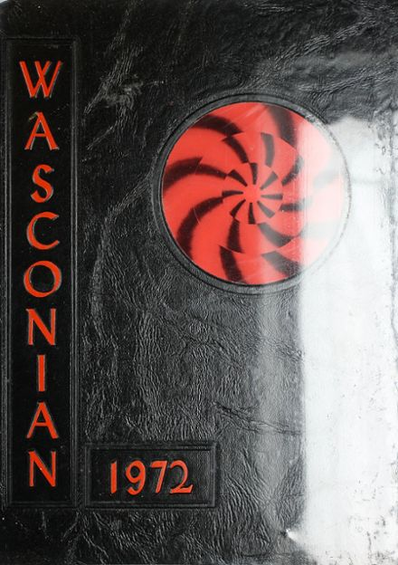 1972 Wasco Union High School Yearbook Cover