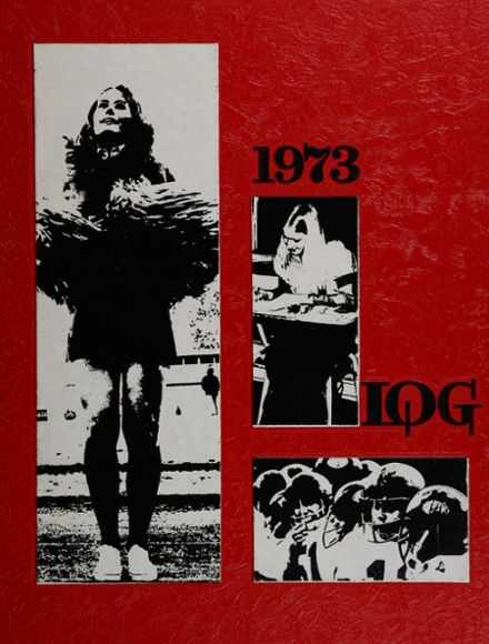 1973 Lincoln Park High School Yearbook Cover