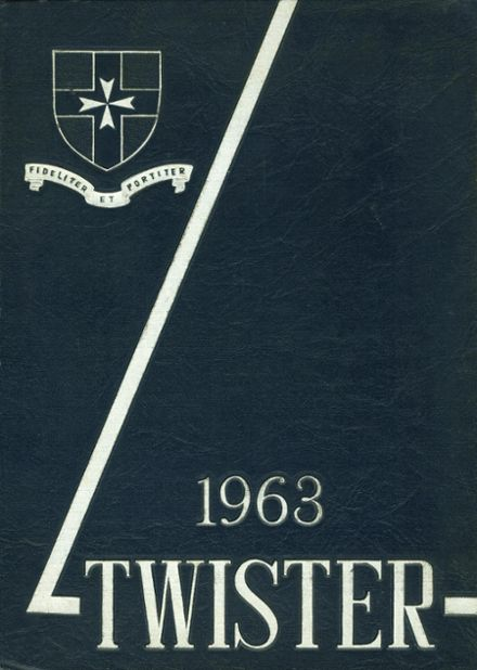 1963 Casady School Yearbook Cover