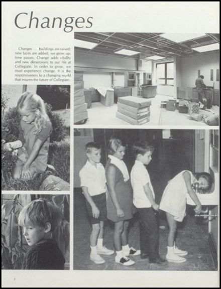 1981 Collegiate High School Yearbook Page 6