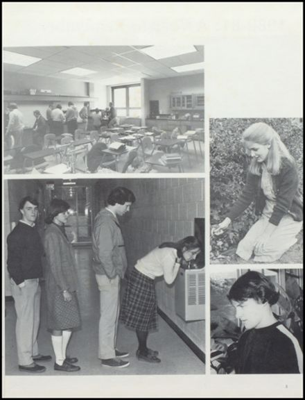 1981 Collegiate High School Yearbook Page 7