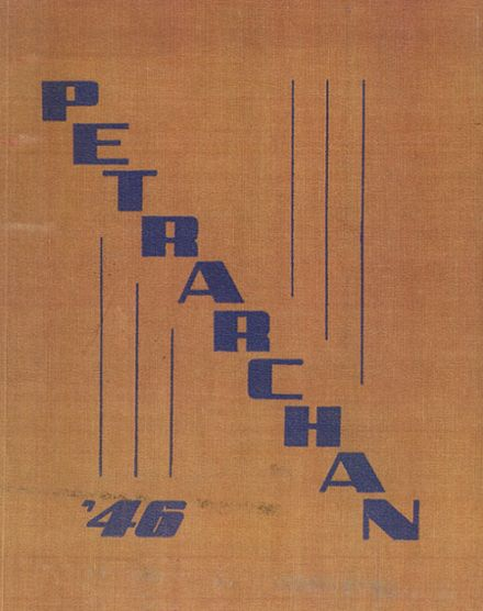 1946 St. Peter's High School Yearbook Cover