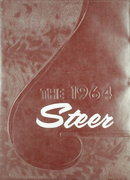 1964 Magdalena High School Yearbook Cover