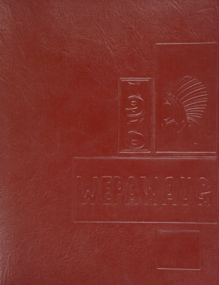 1970 Milford High School Yearbook Cover