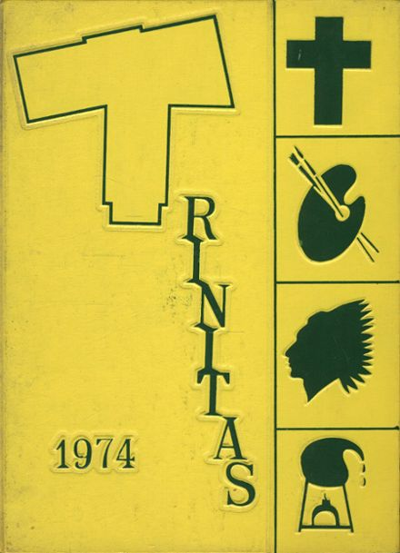 1974 Holy Trinity High School Yearbook Cover